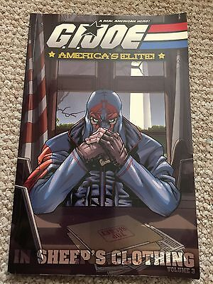 GI Joe Graphic Novel Volume 3 Wolf In Sheep's Clothing