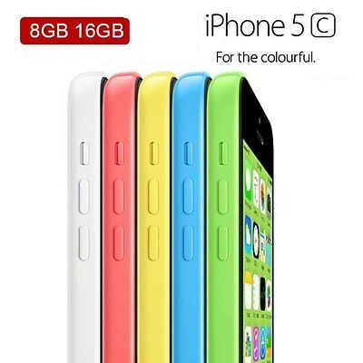 Unlocked Apple iPhone 5C 32GB Smartphone MobilePhone Various Colours Grade A++