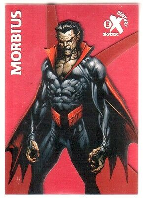 2017 Fleer Ultra Spider-Man Skybox EX Century Then And Now Red Morbius 11/34 SP