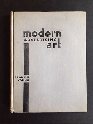 1930 Vintage MODERN ADVERTISING ART Design Posters Typefaces Graphics Deco Book