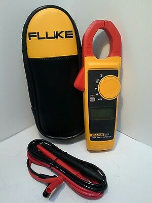 Fluke 323 True RMS Clamp Meter w/ Zipper Carrying Case New w/out Box