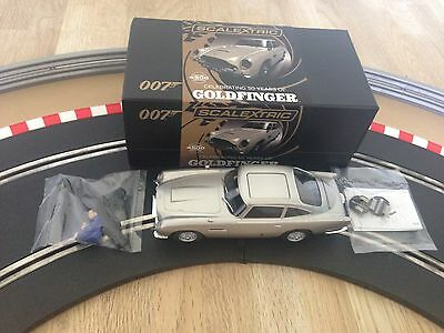 Scalextric Limited Edition Aston Martin DB5 James Bond Goldfinger C3664A Boxed