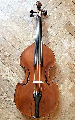 VIOLA DA GAMBA JAISS 1727, 41,3 cm. YOUTUBE SAMPLE! Viola d'amore old antique