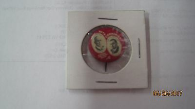 1928 Litho Button Pin Workers Communist Party Jugate Foster Gitlow Com4