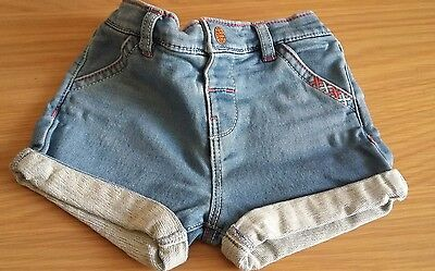 Little girls shorts age 6-9mths  by F&F