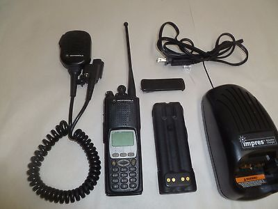 Motorola Astro XTS5000 P25 9600 BAUD Trunking 800 MHz Two Way Radio w Impres b