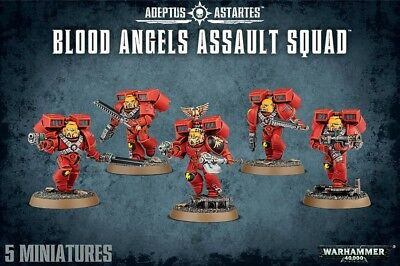 Blood Angels Assault Squad Games Workshop Warhammer 40.000 GW 40k 41-18
