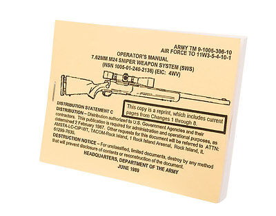 7.62mm M24 Operators Manual, Sniper Weapons System (SWS)