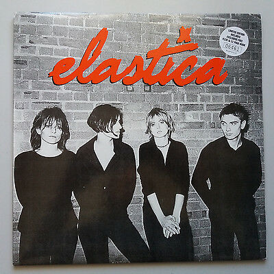 Elastica - Self Titled s/t Same Vinyl Album LP UK 1st + Booklet + Flexi Misprint
