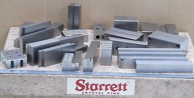 LARGE LOT OF  Ground Toolmakers blocking ALL PAIRED machinist toolmaker grinding