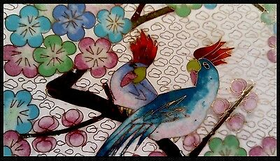 Beautiful Very Large Enamel Chinese Charger Stunning Design