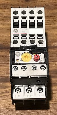GE General Electric Starter #CL00A310T W/ GE RT1K Overload Relay - Used