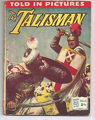 Thriller Comics Picture Library No. 59 the Talisman