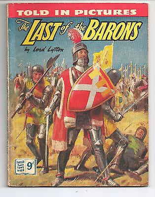 Thriller Comics Picture Library No. 69 The Last of the Barons