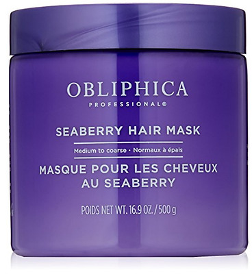 Obliphica Seaberry Hair Mask Medium to Coarse 16.9oz
