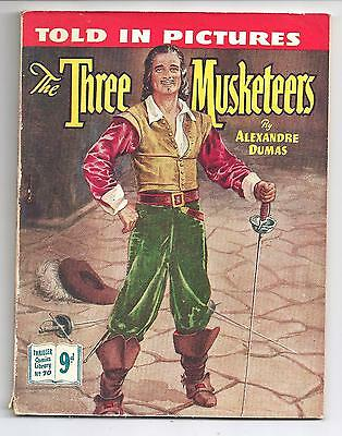 Thriller Comics Picture Library No. 70 The Three Musketeers