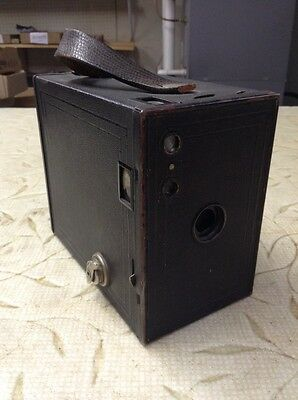 Vintage Antique Kodak No 2A Brownie Model C Box Camera
