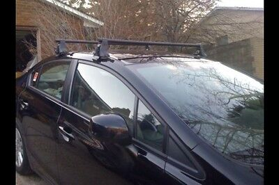 YAKIMA ROOF RACK Towers, clips & Hrdwr No BAR! Naked Roof Cars Guaranteed to Fit
