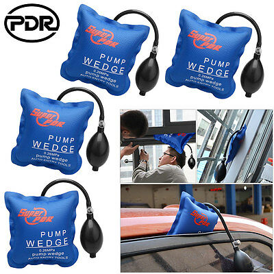 4X PDR Air Wedge Pump Up Air Bag Hand Tool Automotive Inflatable Window Door Car