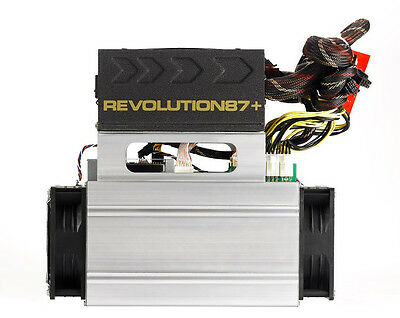 Bitmain Antminer S7-LN 2.7TH Miner with Built-in Power Supply, Used, USA Seller