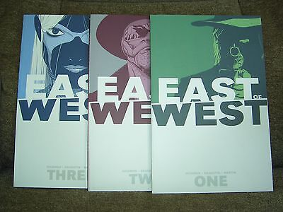 Lote - East of West - Jonathan Hickman - Vol. 1, 2 y 3 - Image