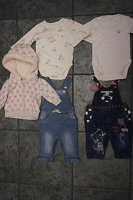 Baby girls clothes bundle up to 3 months