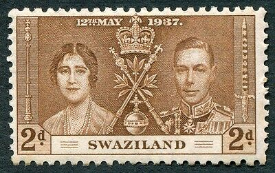 SWAZILAND 1937 2d yellow-brown SG26 mint MH FG Coronation Omnibus Issue a #W28
