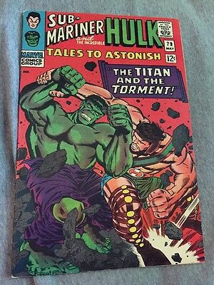 Marvel Comics TALES TO ASTONISH #79 Hulk, Sub-Mariner 1966