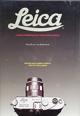 Leica - A History Illustrating every Model and Accessory - REV. Ed van Hasbroeck