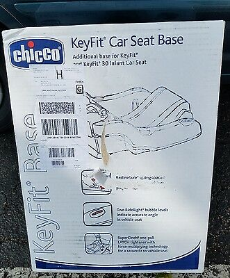 Brand New Chicco KeyFit 30 Infant Car Seat Base Additional base for keyfit