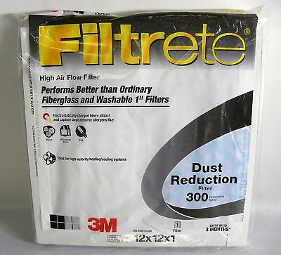 Filtrete Reduction Dust Filter, MPR 300 (12 x 12 x 1)-Inches