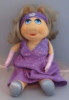 Muppets Muppet Miss Piggy Dress-up Doll Fisher Price 1980