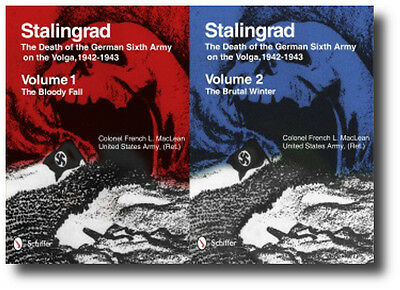 Stalingrad:The Death of the German Sixth Army on the Volga Vol 1 and Vol 2 Book