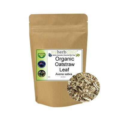 Oatstraw Organic Herb Herbal Tea ~ Naturopathically Prepared ~ Premium Quality
