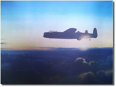 Avro Lancaster by John Young - Signed by Leonard Cheshird - Aviation Art Print