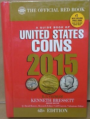 2015 Red Book of U.S. Coins Yeoman 68th ed. Hiddenwire Hardcover price guide