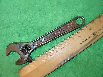 VINTAGE CRESCENT TOOL Co. 6'' ADJUSTABLE WRENCH CRESCENT WRENCH' MADE IN USA