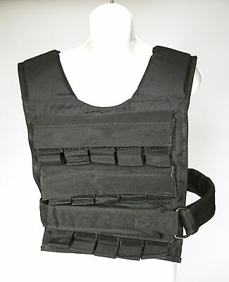 Weighted Vest Strength Training Running Weight Loss Gym Fit 15kg