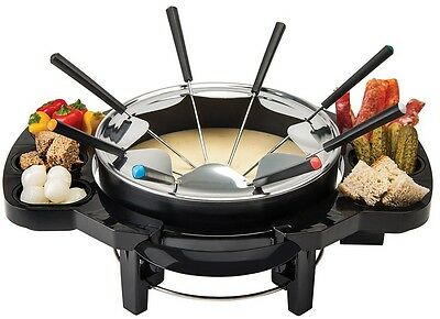 Gourmet Swiss Electric Fondue Set A Must Have For Parties 8 Serving Pots