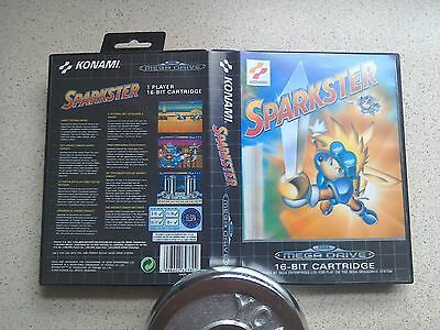 Sparkster Empty BOX ONLY - For Sega Mega Drive Game (PAL)