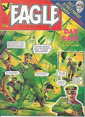 Eagle 3 Sept 1983 (Ian Kennedy Dan Dare + One Eyed Jack) top grade