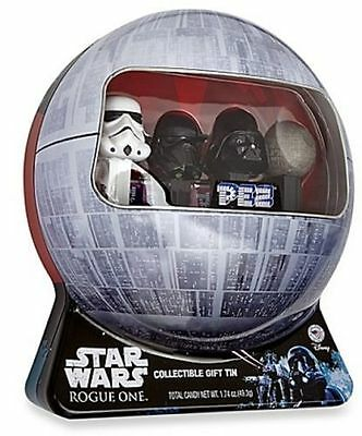 STAR WARS ROGUE ONE Death Star  PEZ Collectible Gift Tin