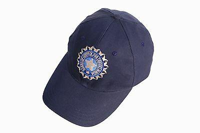High Quality Cricket Baseball Style Cap With India Logo Adults Adjustable