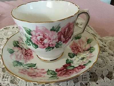 Crown Staffordshire Bone China  Cup And Saucer England