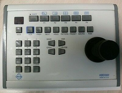 Pelco KBD300 Joystick Keyboard Security Surveillance Camera Controller