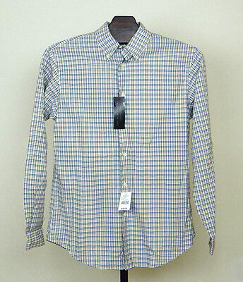 The Mens Store Bloomingdales  Shirt Size M 100% Cotton Single Needle Tailoring