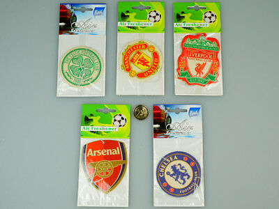 Various Football Club Team Air Freshener Car ,office, Home, Bathroom