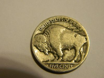 1928 P Buffalo Nickel Acid Recovered Date --INV5