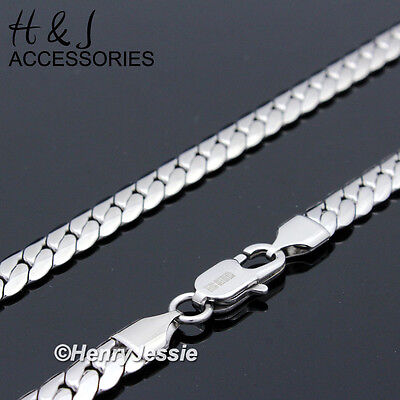 """18-40""""MEN 316L Stainless Steel 8mm Silver Miami Cuban Curb Link Chain Necklace"""