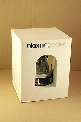 New in Box I Heart Bloomingdales Silhouette Base Collectible Musical Snow Globe